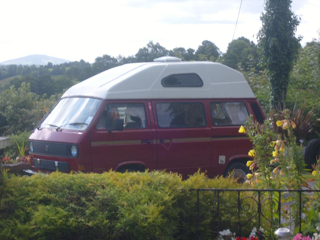 Our 1980's VW Camper Van, Used in Surfing Trips to Donegal